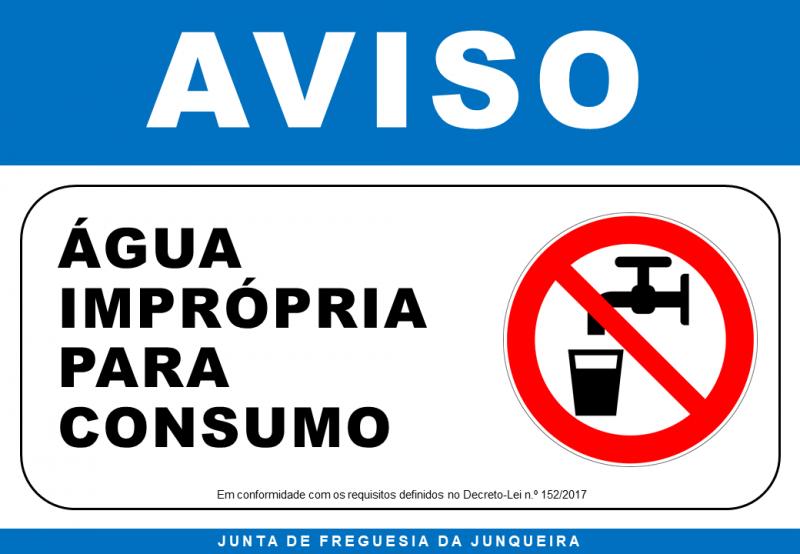 Aviso_AguaImpropriaParaConsumo_2018